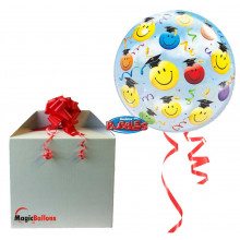 Grad smile faces - b.balloon in a package