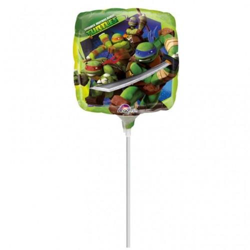 Teenage Mutant Ninja Turtles - foil balloon on a stick