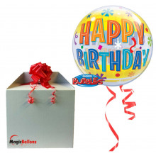 Bday Fun & Yellow Bands - b.balloon in a package