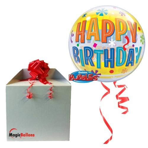 Bday Fun & Yellow Bands  - b.balon v paketu