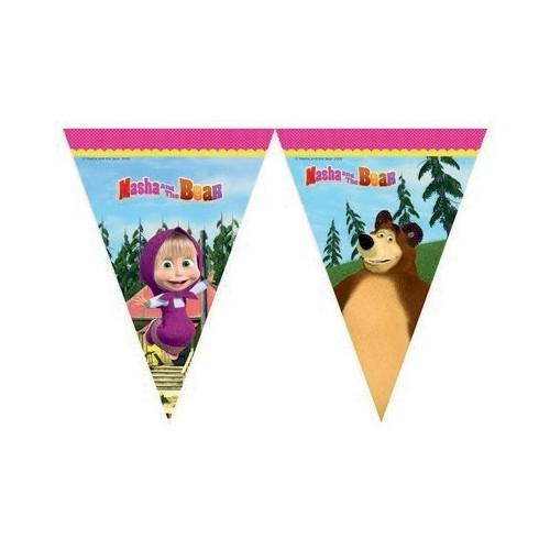 Masha and the Bear flag banner