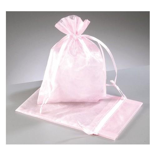 organza vrečke roza