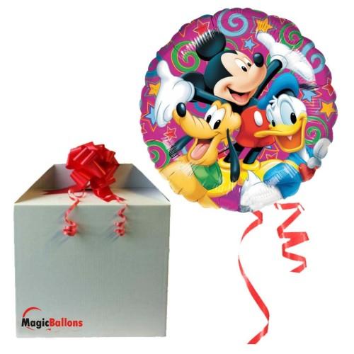 Mickey Disney Celebration - Folienballon in Paket