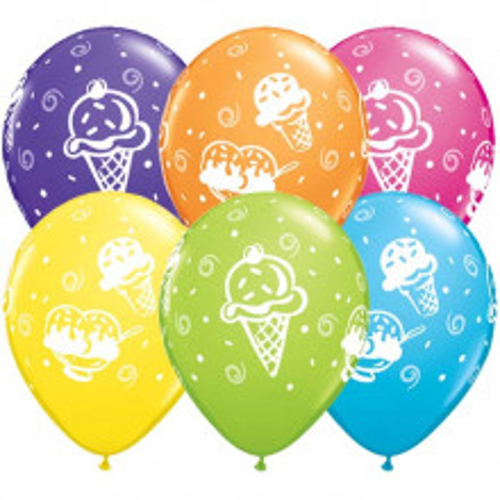 Balloon Ice cream treats