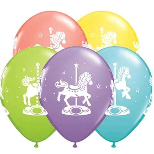 Balloon Carousel Horses