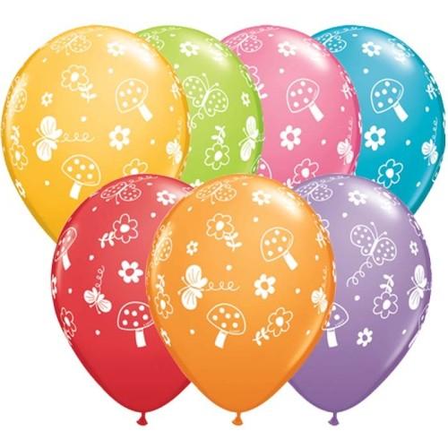 Balloon Garden & Butterflies