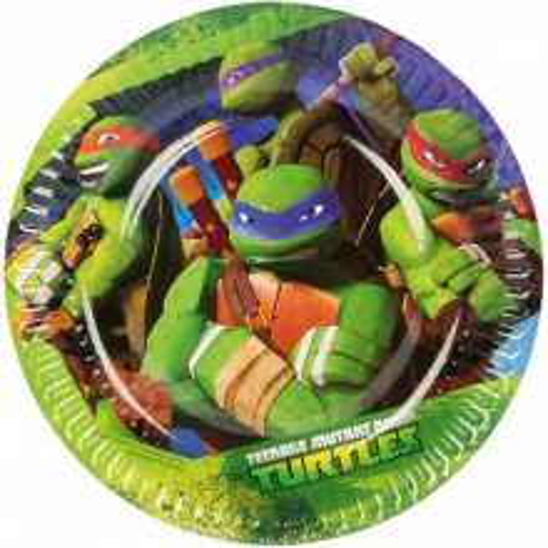 Ninja Turtles plates 18 cm