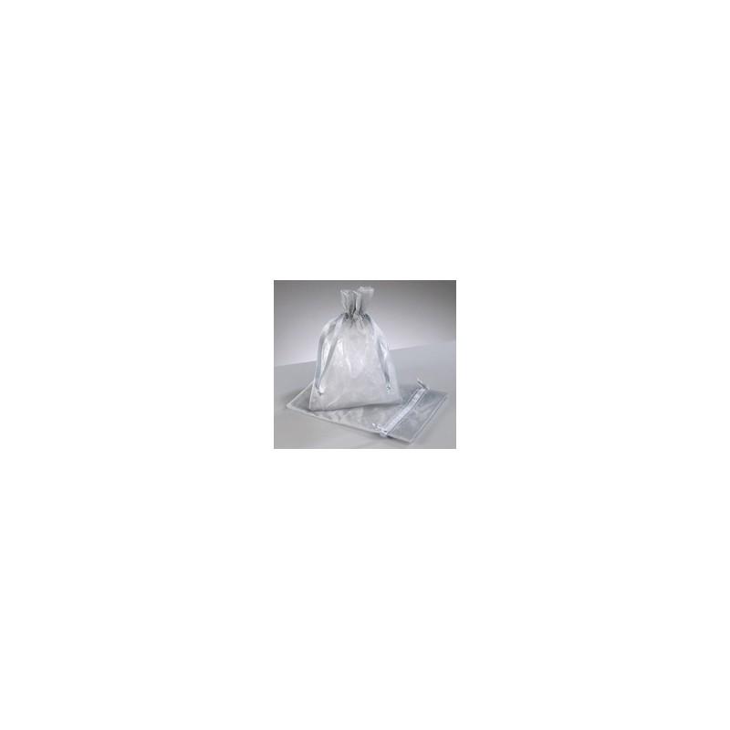 organza vrečke srebrne