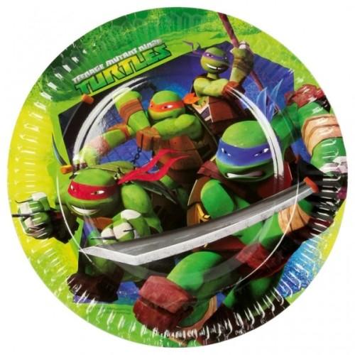 Ninja Turtles krožniki 23 cm