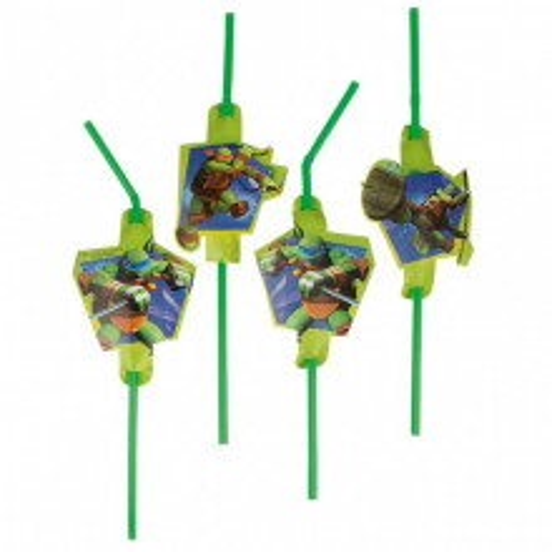 Ninja Turtles straws