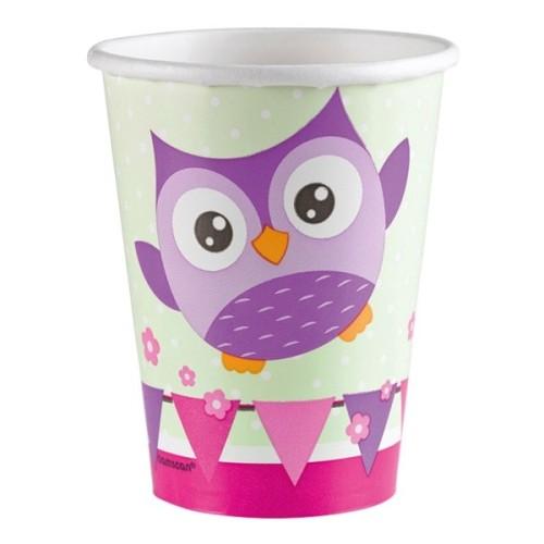 Happy Owl cups
