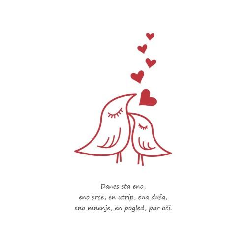 Voščilnica Ljubezen