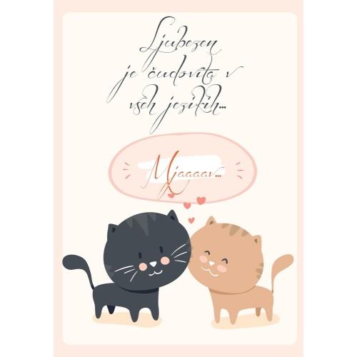 Greeting card Ljubezen
