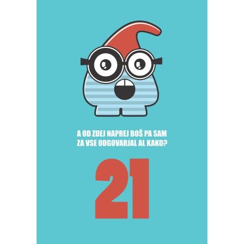 Greeting card 21