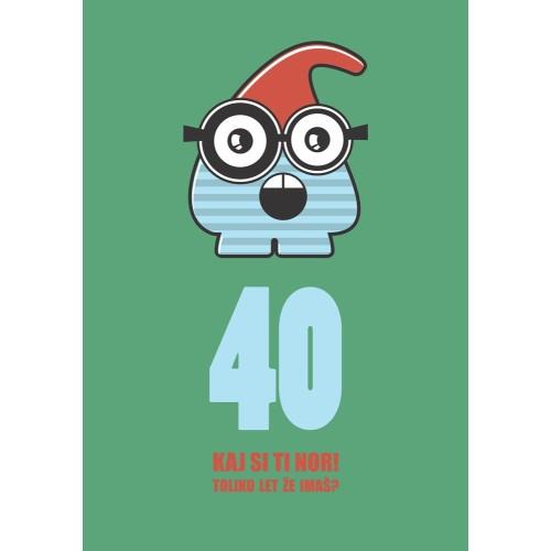 Voščilnica 40