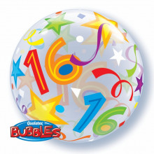 16 Brilliant Stars - b.balloon in a package