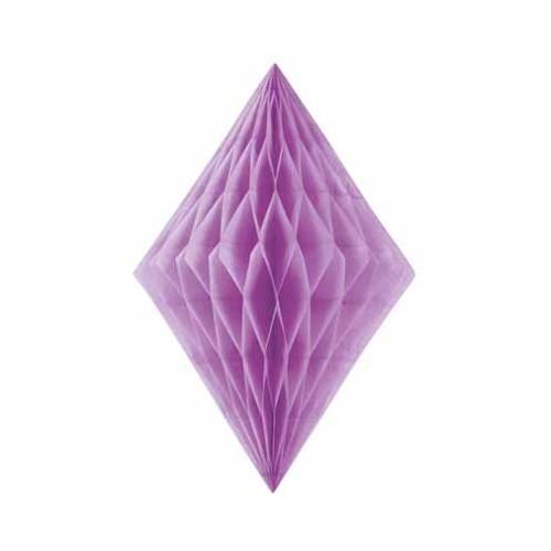 Diamond decoration - purple