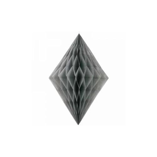 Diamantna viseča dekoracija - srebrna