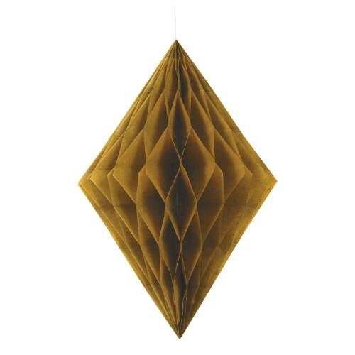 Diamantna viseča dekoracija - zlata