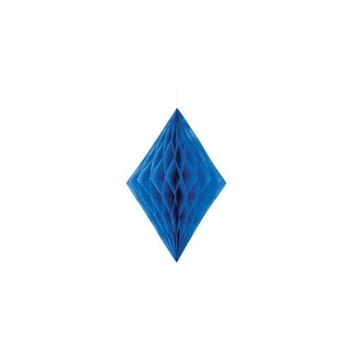 Diamantna viseča dekoracija - kraljevsko modra