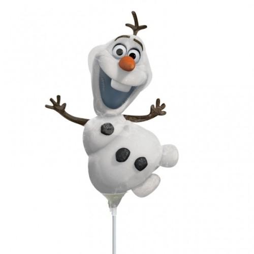 Olaf - foil balloon on a stick