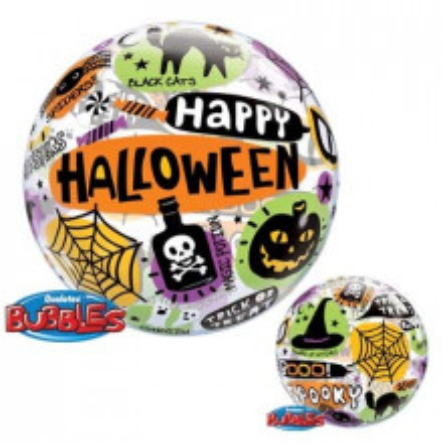 Halloween Messages & Icons - b.balon v paketu
