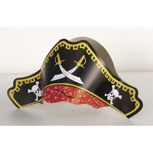 Pirati - Klobuk iz trdega papirja