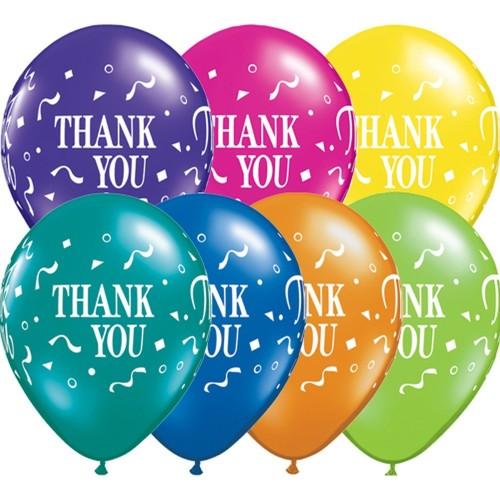 Balon Thank you Confetti