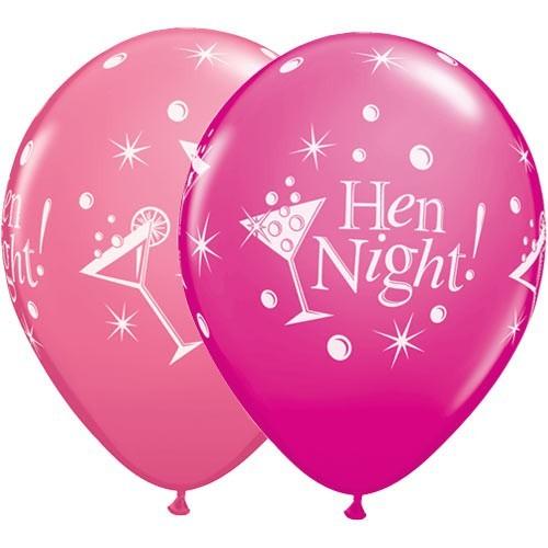 Balon Hen Night Bubbly