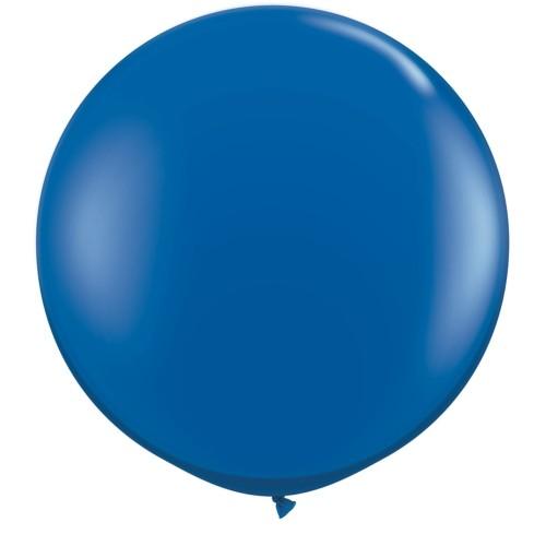 Balloon - sapphire blue 90 cm - 2 pcs