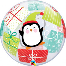 Penguin & Presents - b.balloon in a package