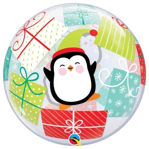 Penguin & Presents - b.balon v paketu