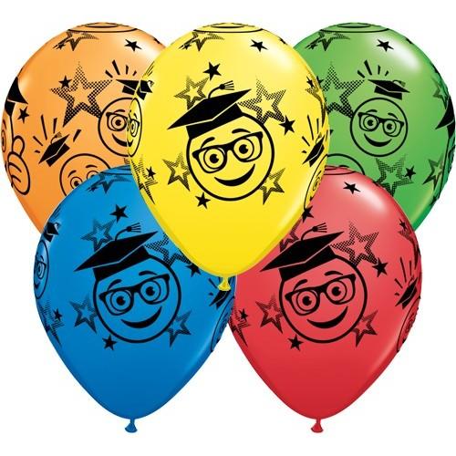 Balloon Graduation Smileys
