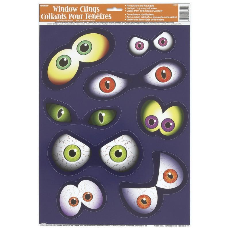 Eyeball nalepke za steklo