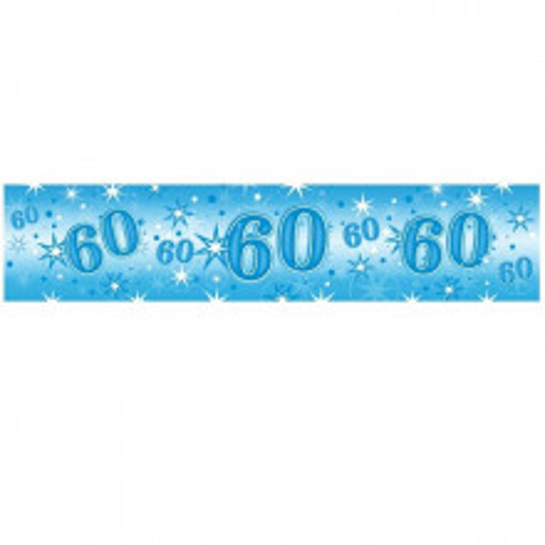 Age 19 blue Sparkle banner