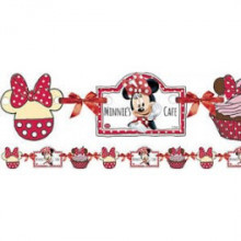 Minnie Mouse daisies  banner