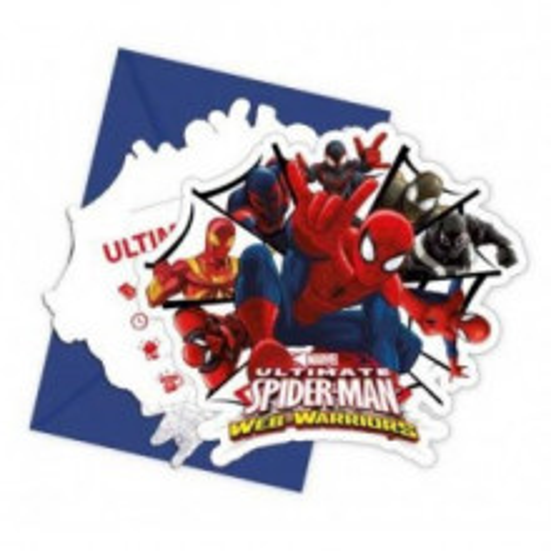 Spiderman Ultimate invitations