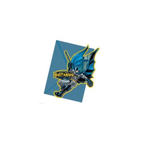 Batman invitations