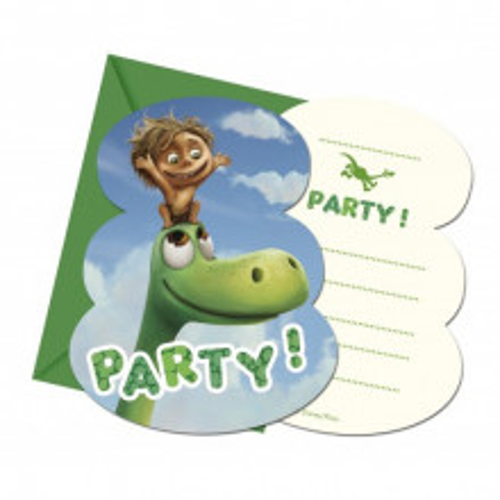 The good Dinosaur invitations