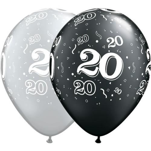 Balon natisnjeno 20