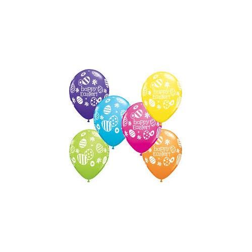 Balloon Easter Eggs & Daisies