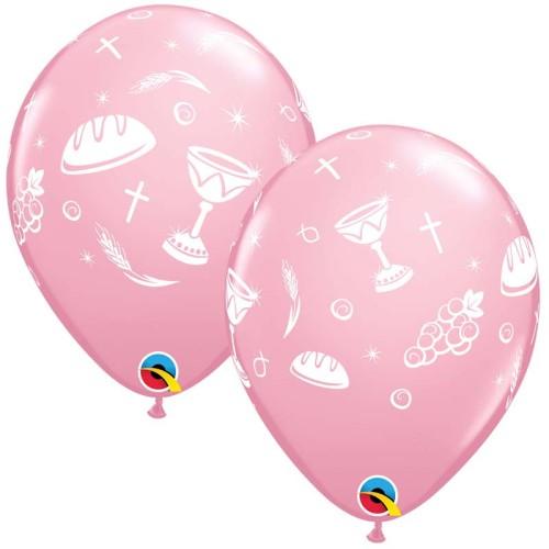 Balloon Communion Elements - pink
