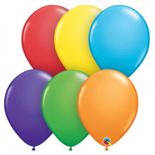 "Balloons 5"" - Rainbow ass."