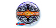 Balon Halloween Scroll & Bats