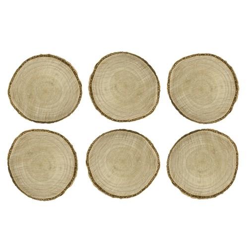 Lesene ploščice za sedežni red