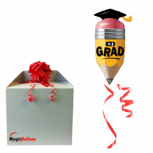 No. 1 Grad Pencil - folija balon v paketu