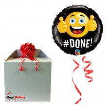 Done! - foil balloon in a package