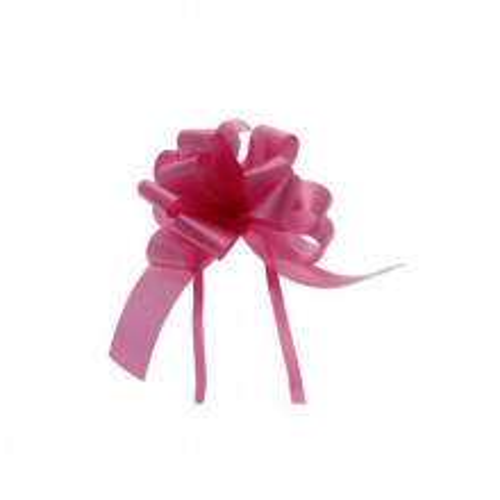 Pull bow Dark Pink 3 cm