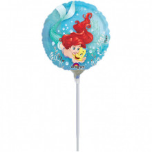 Ariel Dream Big - foil balloon on a stick