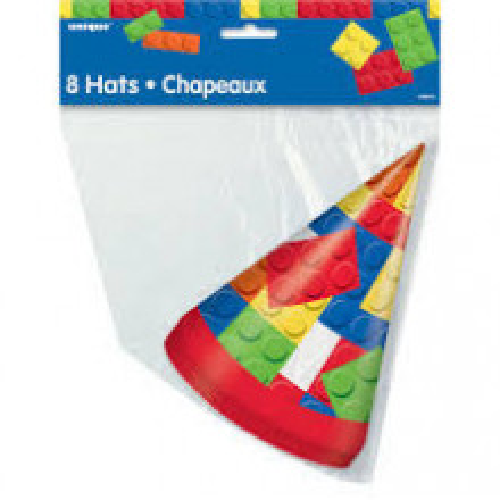 Building Blocks hats